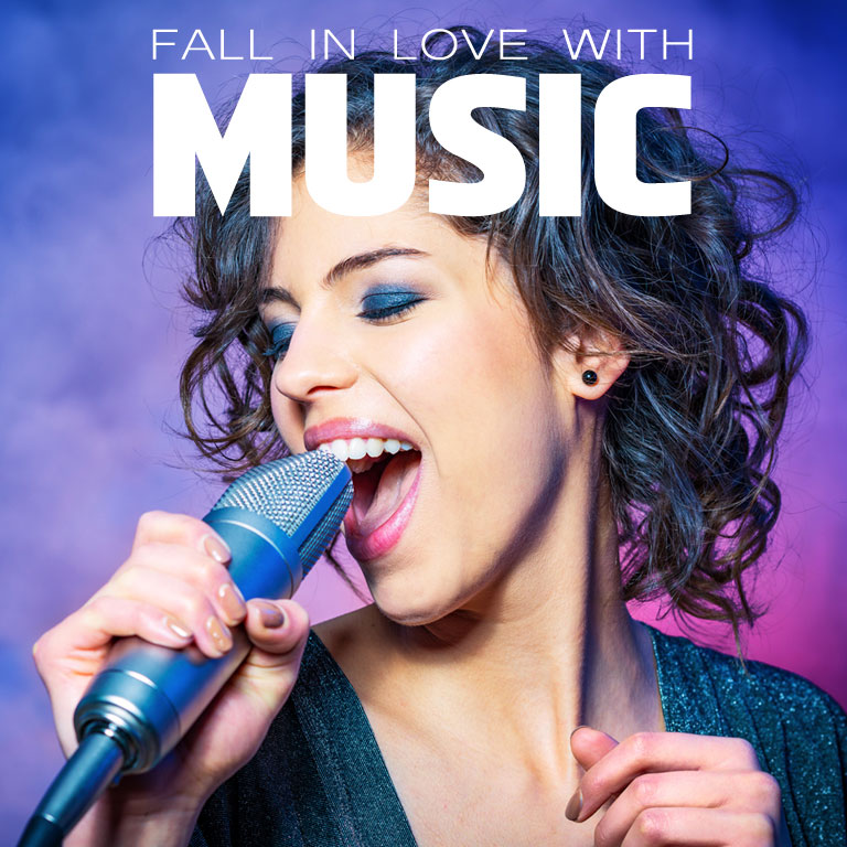 Fall in love with Music