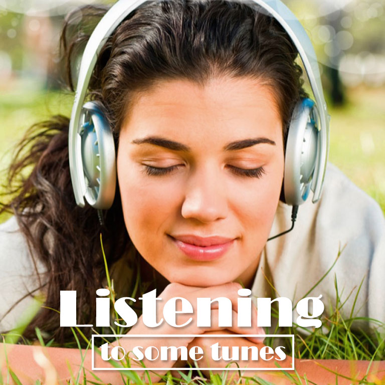 Listening to Some Tunes