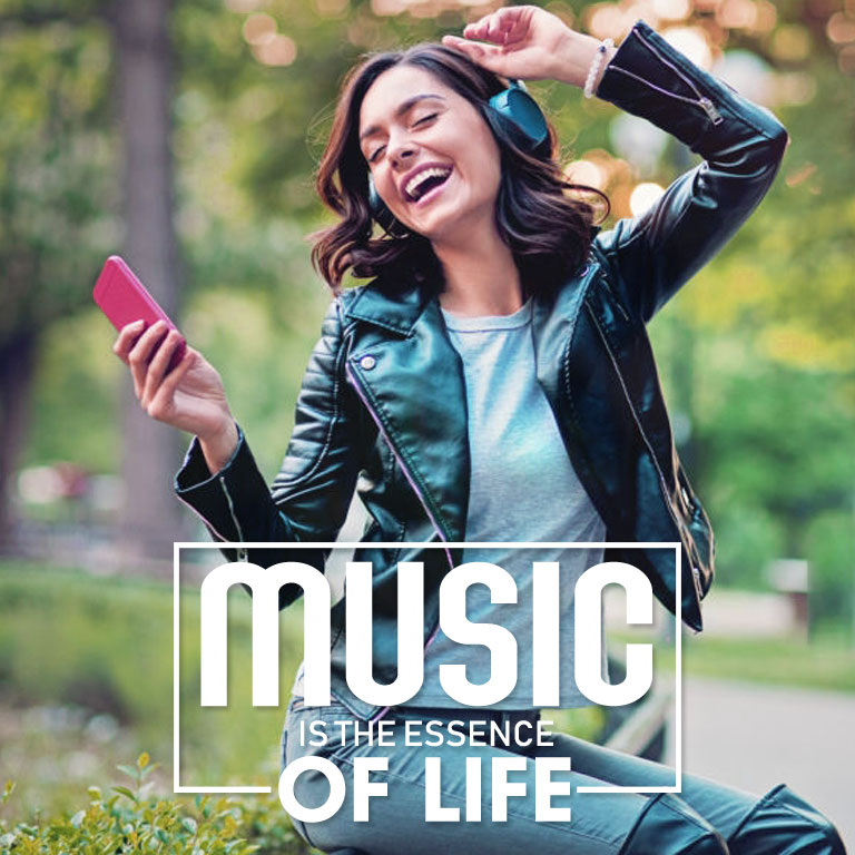 Music is the essence of life